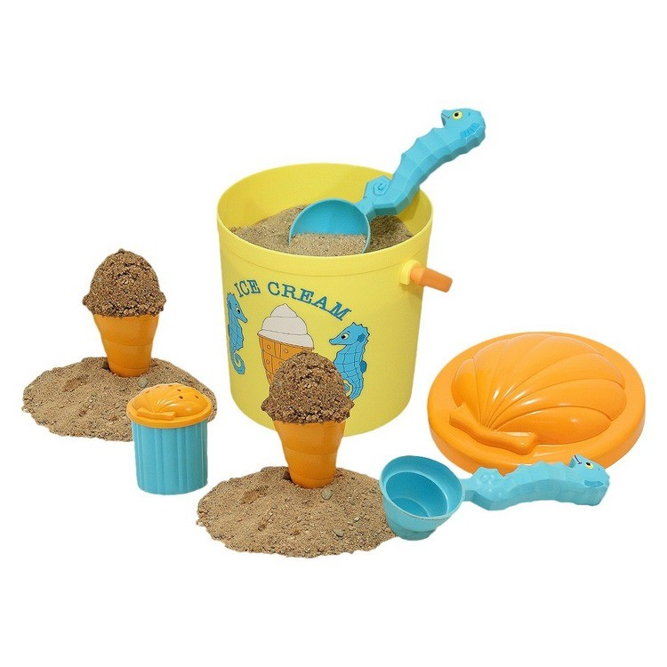 cheap Melissa & Doug Sunny Patch Speck Seahorse Sand Ice Cream Play Set competitive reasonable