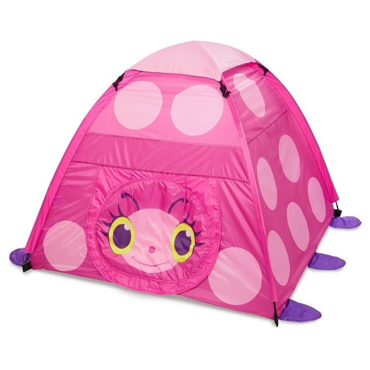 reasonable Melissa & Doug Sunny Patch Trixie Ladybug Camping Tent cheap competitive