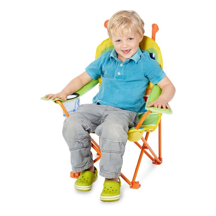 reasonable Melissa & Doug Sunny Patch Giddy Buggy Folding Lawn and Camping Chair cheap competitive