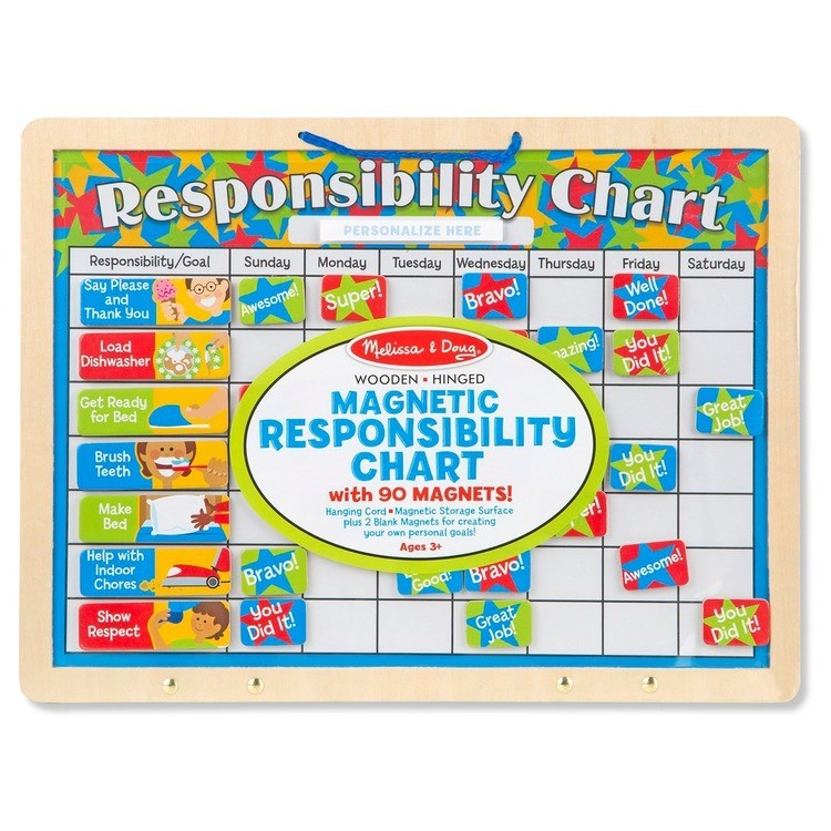 competitive Melissa & Doug Magnetic Responsibility Chart cheap reasonable