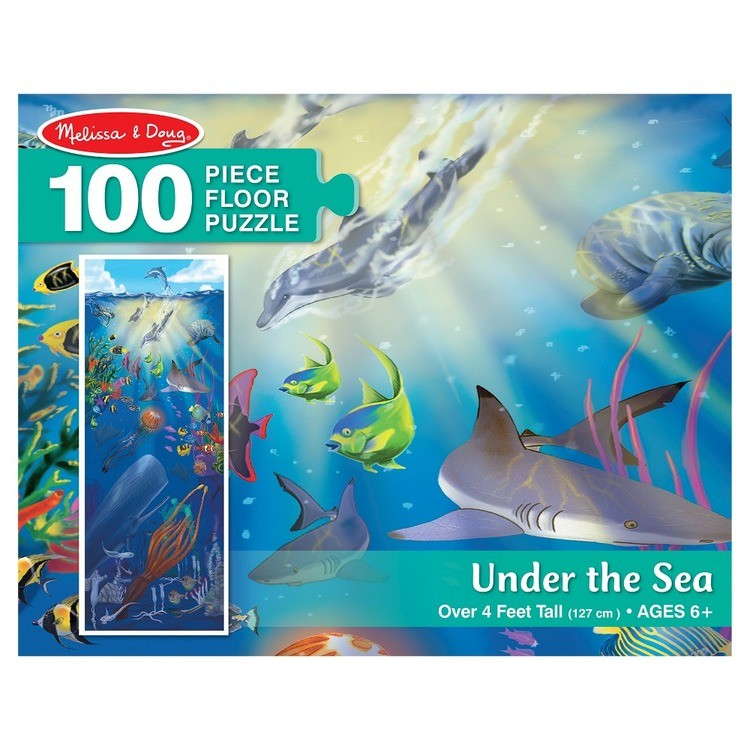 competitive Melissa And Doug Under The Sea Jumbo Floor Puzzle 100pc cheap reasonable