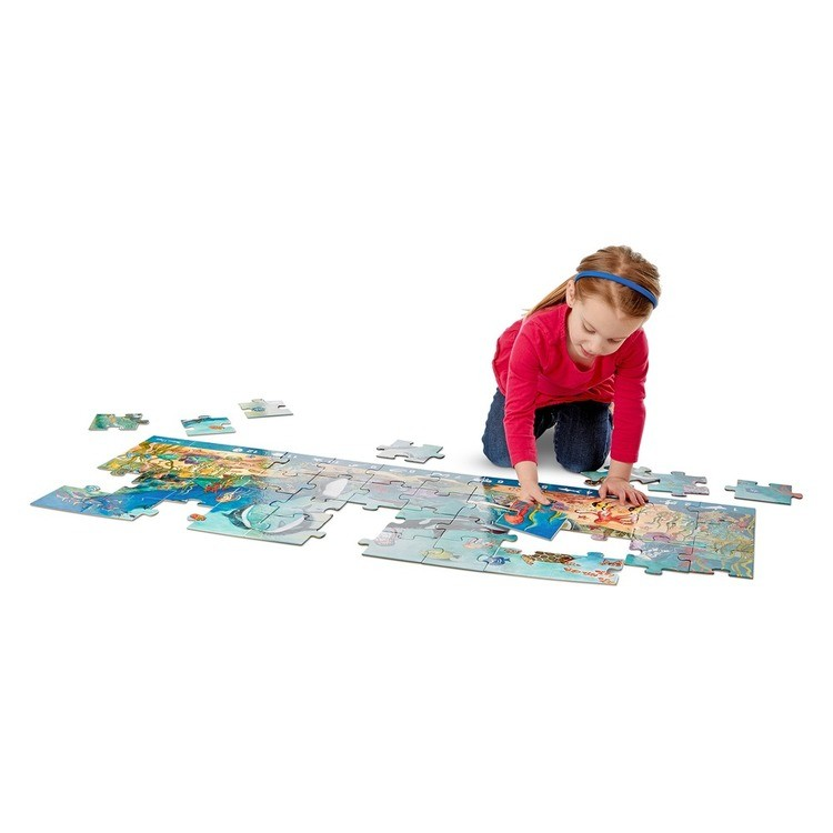 competitive Melissa And Doug Search And Find Beneath The Waves Floor Puzzle 48pc reasonable cheap