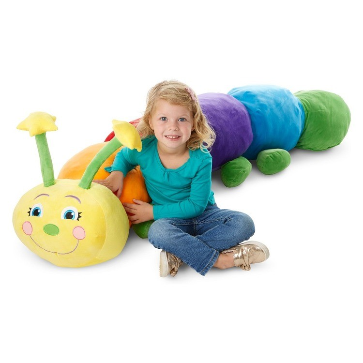 cheap Melissa & Doug Jumbo Rainbow Caterpillar reasonable competitive