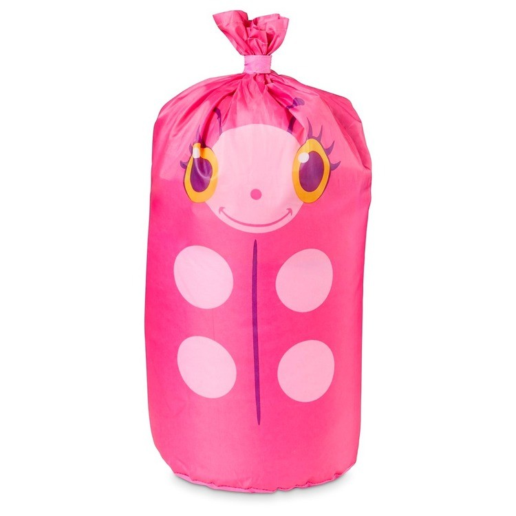 competitive Melissa & Doug Sunny Patch Trixie Ladybug Sleeping Bag With Matching Storage Bag reasonable cheap